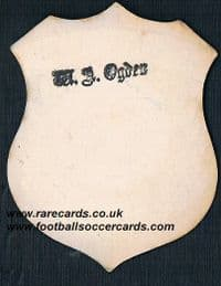 1880s Buxton FC Guild Toole or Briggs card